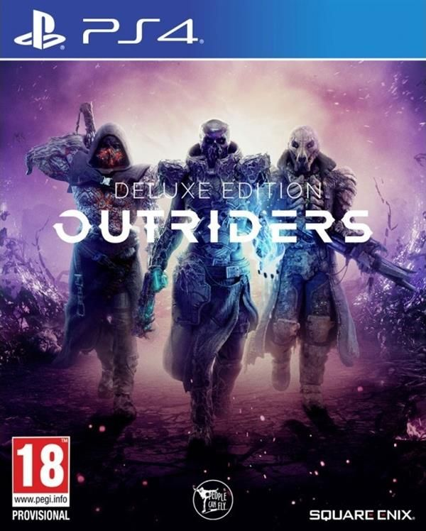 Outriders  Deluxe Edition  Playstation - PS4