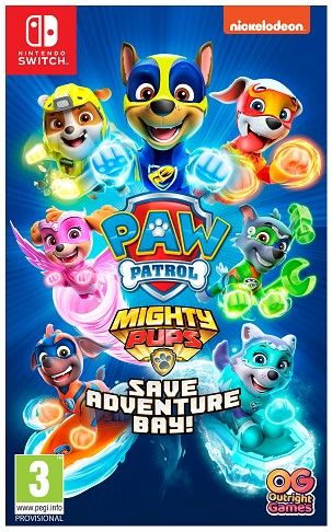 Paw Patrol ! Mighty Pups Save Adventure Bay Nintendo Switch