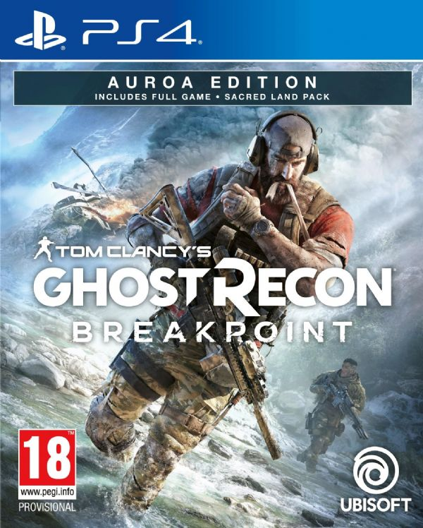 Tom Clancy's: Ghost Recon  BreakPoint Auroa Edition Playstation - PS4