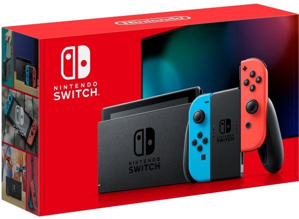 קונסולה Red & Blue Version 1.1 Nintendo Switch - באג