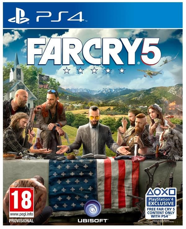 Far Cry 5  Playstation - PS4