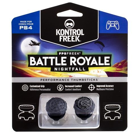 מתאם ארגונומי לאגודל Battle Royal Nightfall PS4 Kontrol Freek