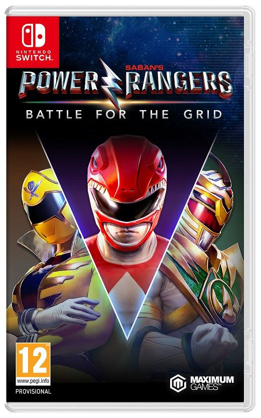 Power Rangers Battle for The Grid Collectors Edition Nintendo Switch