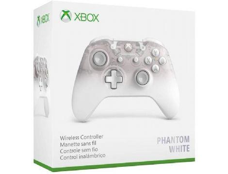 בקר אלחוטי  Phantom White Xbox One