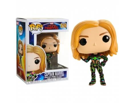 Marvel Captain Marvel - Neon Suit POP