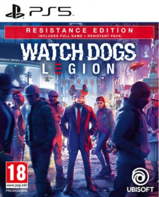 Watch Dogs Legion Resistance Edition Playstation - PS5