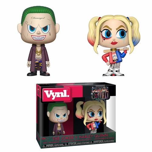 VYNL: Suicide Squad 2PK-The Joker & Harley Quinn POP
