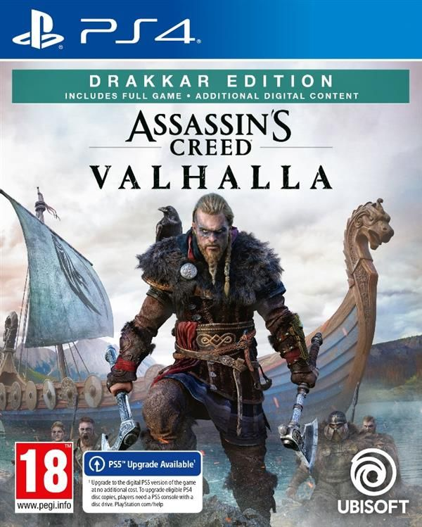 Assassin's Creed Valhalla Drakkar Special D1 Edition  Playstation - PS4